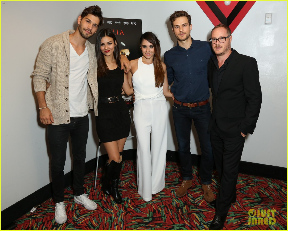 victoria justice supports eye candy co star ryan cooper at julia screening 02