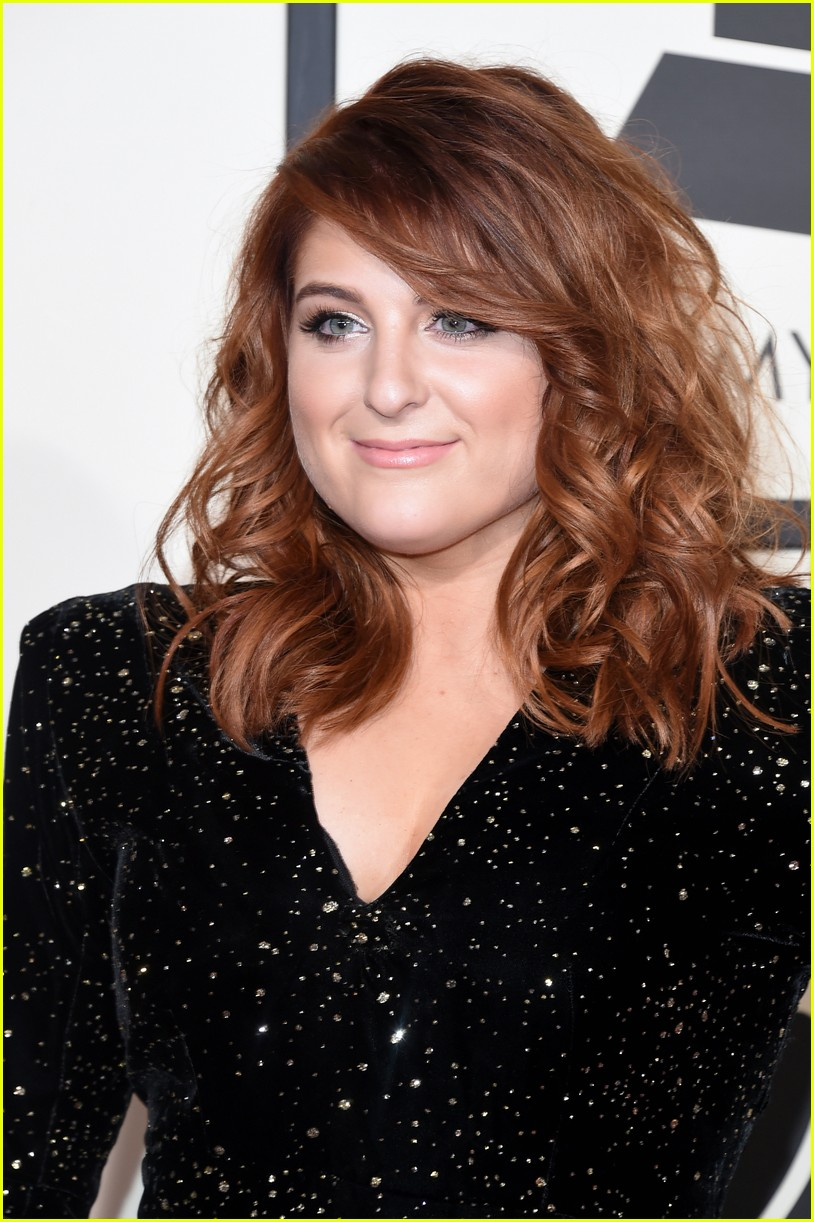 meghan trainor grammys arrival 09