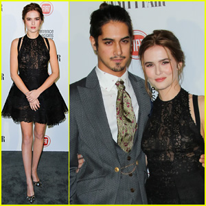 Zoey Deutch & Avan Jogia Take Vanity Fair's Young Hollywood Party by Storm