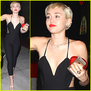 Miley Cyrus Emerges After Patrick Schwarzenegger's Cheating Denial