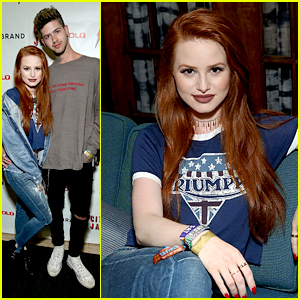 Madelaine Petsch & Boyfriend Travis Mills Party with Lucky Brand During Lollapalooza