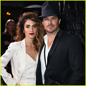 Ian Somerhalder Celebrates Oscars Week with Nikki Reed at Cadillac Party