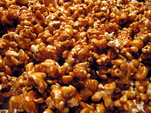 ... once you get a taste of this rich and hot caramel flavored popcorn