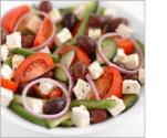 Greek Salad With Low Fat Yogurt