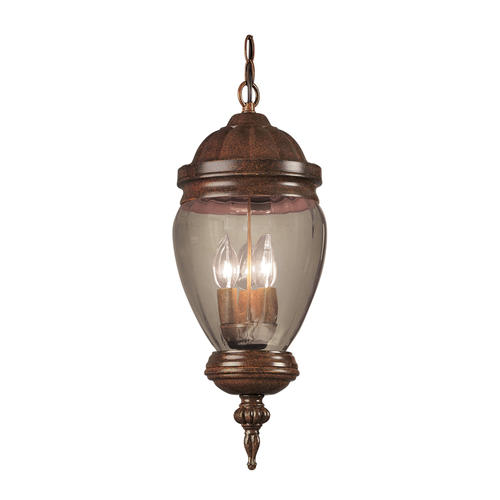 Patriot Lighting Mable 3 Light Antique Rust