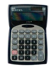 Sentry Industries Desktop Calculator with Tilt Display