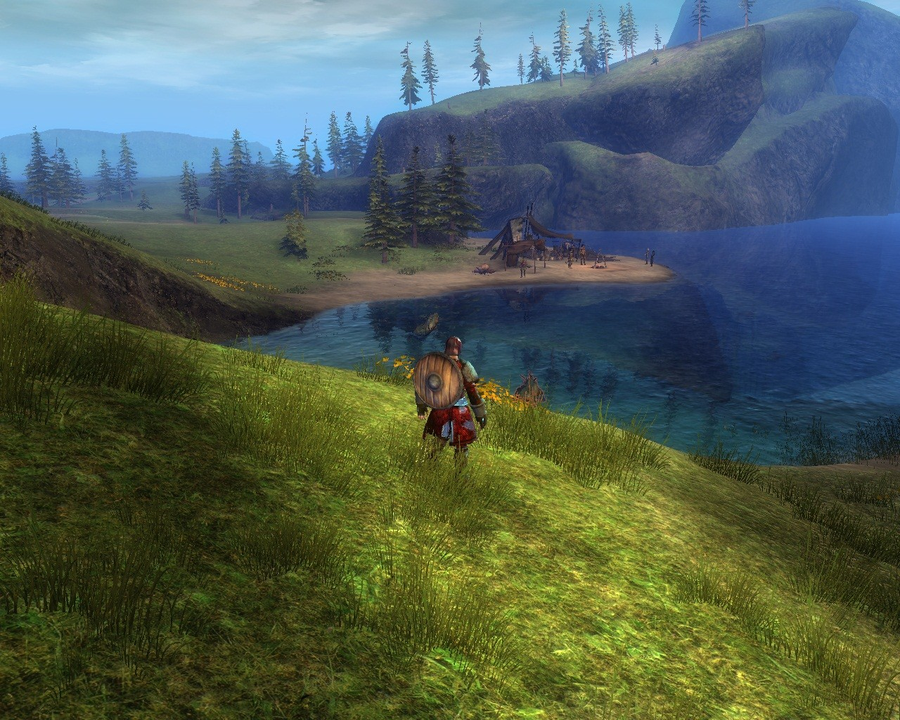 Guild Wars 2 - Hm..good spot to fish