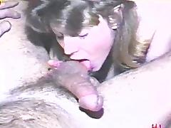 Sensual wife in lingerie gets on her knees and blows her hubby porn tube video