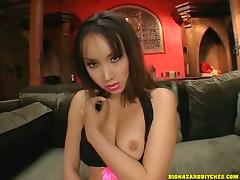 Gorgeous Asian Gets A Nasty Facial After A Hard Ass Fuck tube porn video