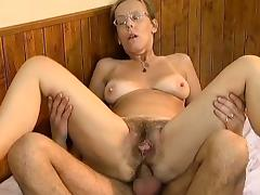 Housewife, Anal, Assfucking, Hairy, Housewife, Mature