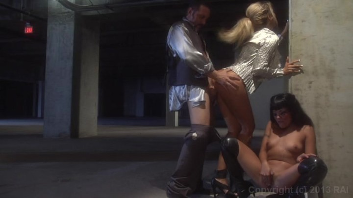 Scene with Brad Armstrong, Jessica Drake and Kaylani Lei - image 18 out of 20