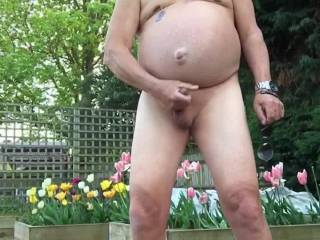 I was in a park and needed a wank so I striped off and wanked it was so risky !