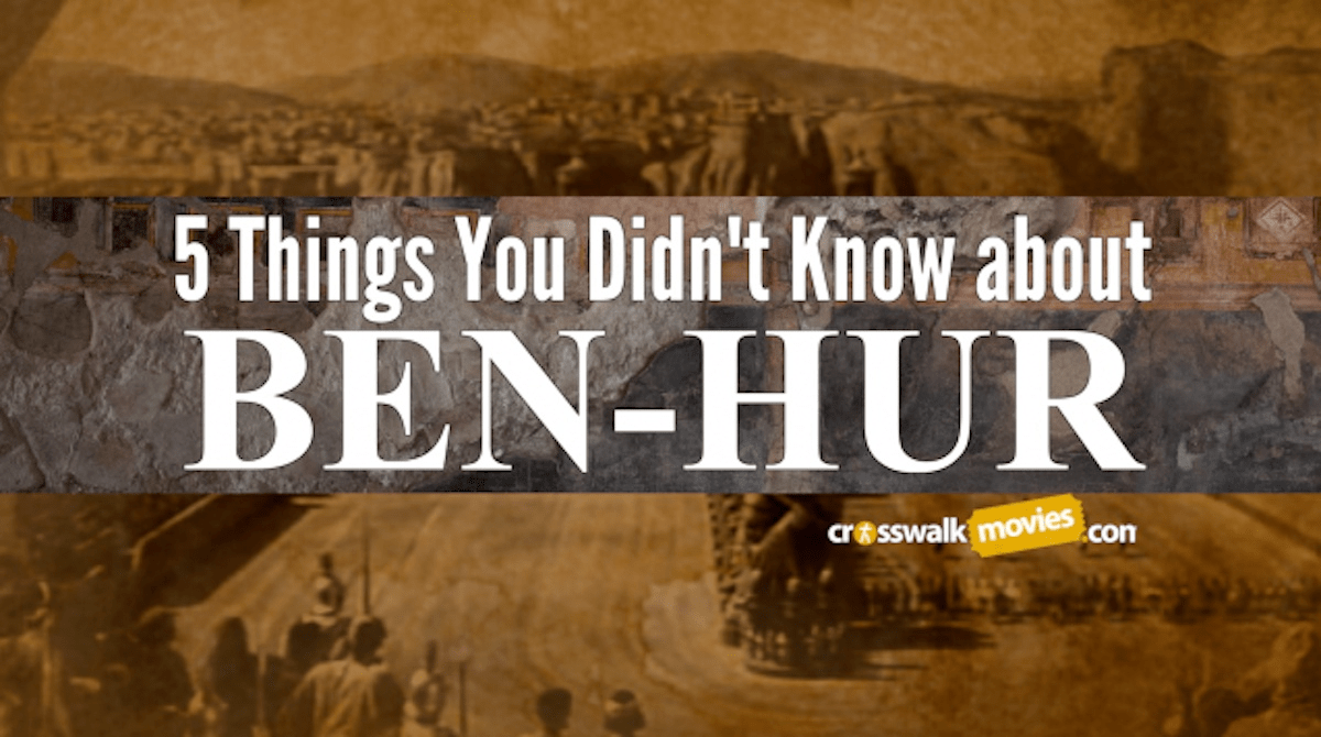 5 things you didn 39 t know about ben hur movie features news interview. Black Bedroom Furniture Sets. Home Design Ideas