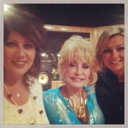 "The Isaacs Sing with Dolly and appear on ""Larry's Country Diner"""
