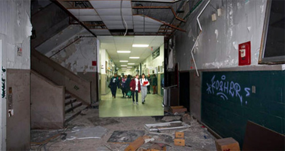 After a Fire, This High School Was Shut Down. But, Its Alumni Found a Cool Way to Remember It.