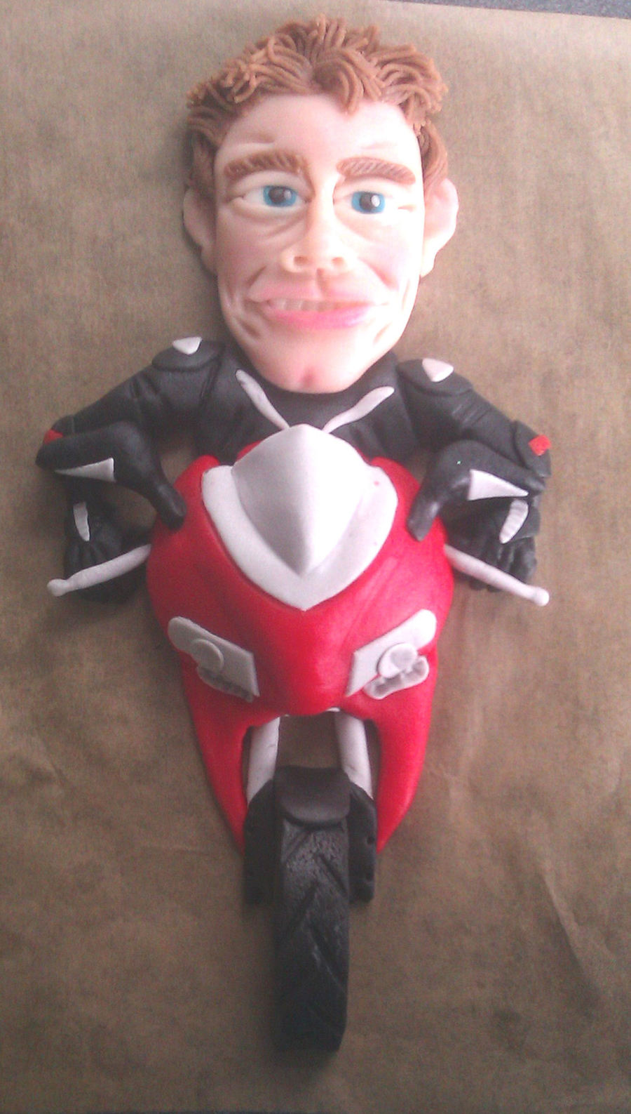 Ducati Rider on Cake Central