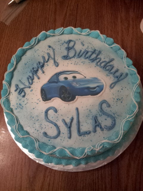 Cars Themed Cake Birthday Cakes