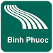 Binh Phuoc Map offline by iniCall.com