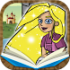Tale of Rapunzel by Classic fairy tales Interactive book for kids