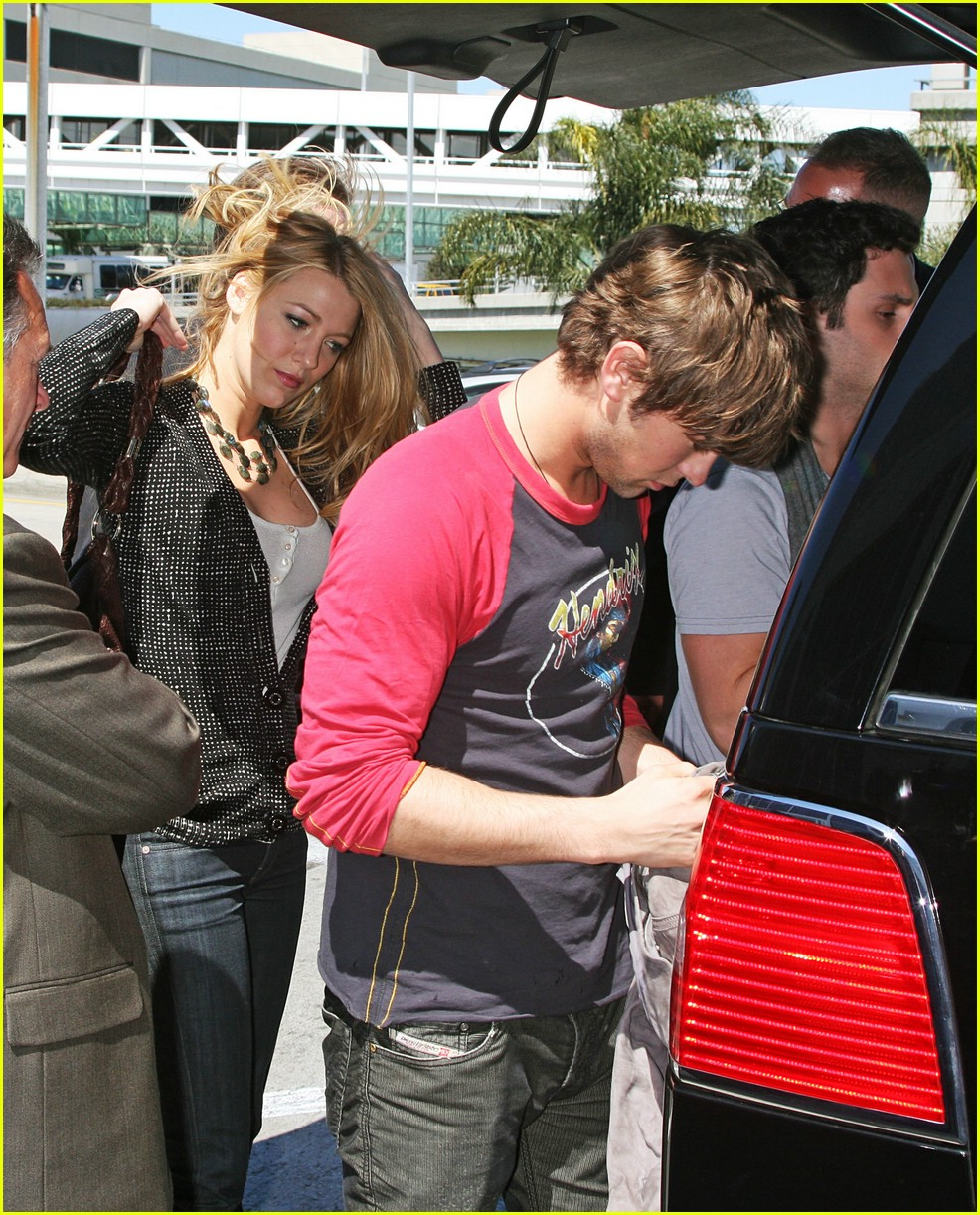 Full Sized Photo of chace crawford blake lively lax 05 ... Blake Lively