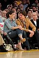 tom cruise katie holmes lakers game 01