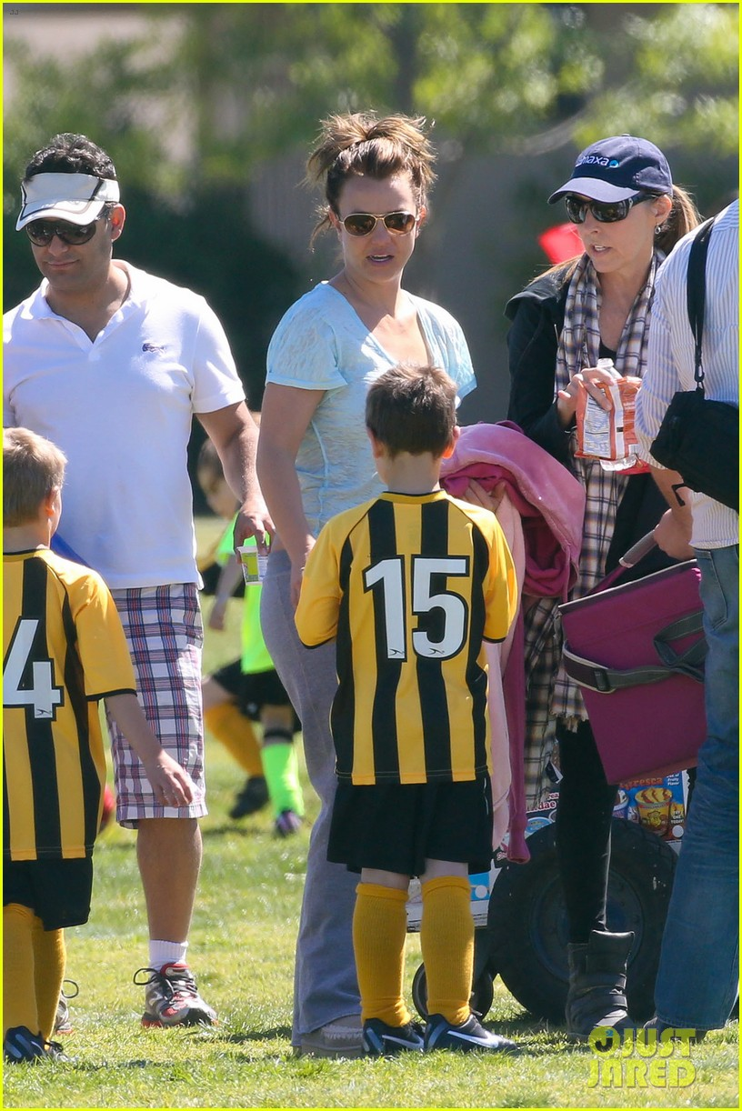britney spears sunday soccer mom 472828514