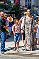 heidi klum martin kirsten take the kids to the park 34
