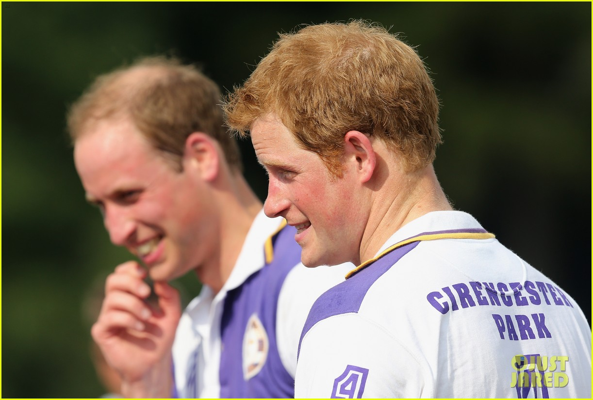 prince william harry jerudong trophy charity polo match 15