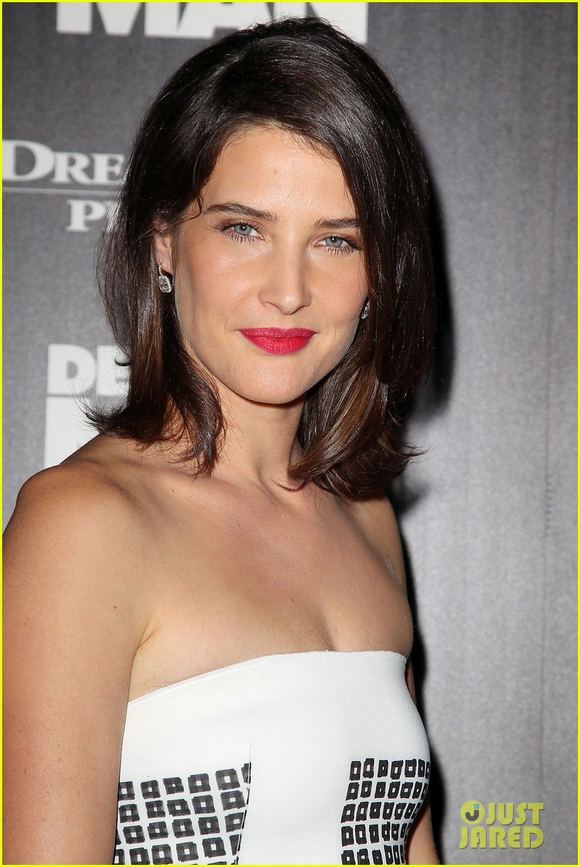 cobie smulders delivery man premiere with vince vaughn 122995141