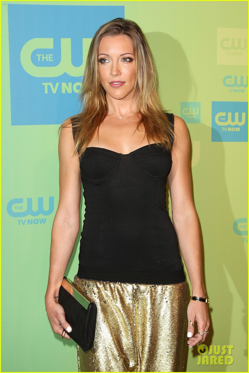 stephen amell katie cassidy arrow cw upfronts 2014 143114266