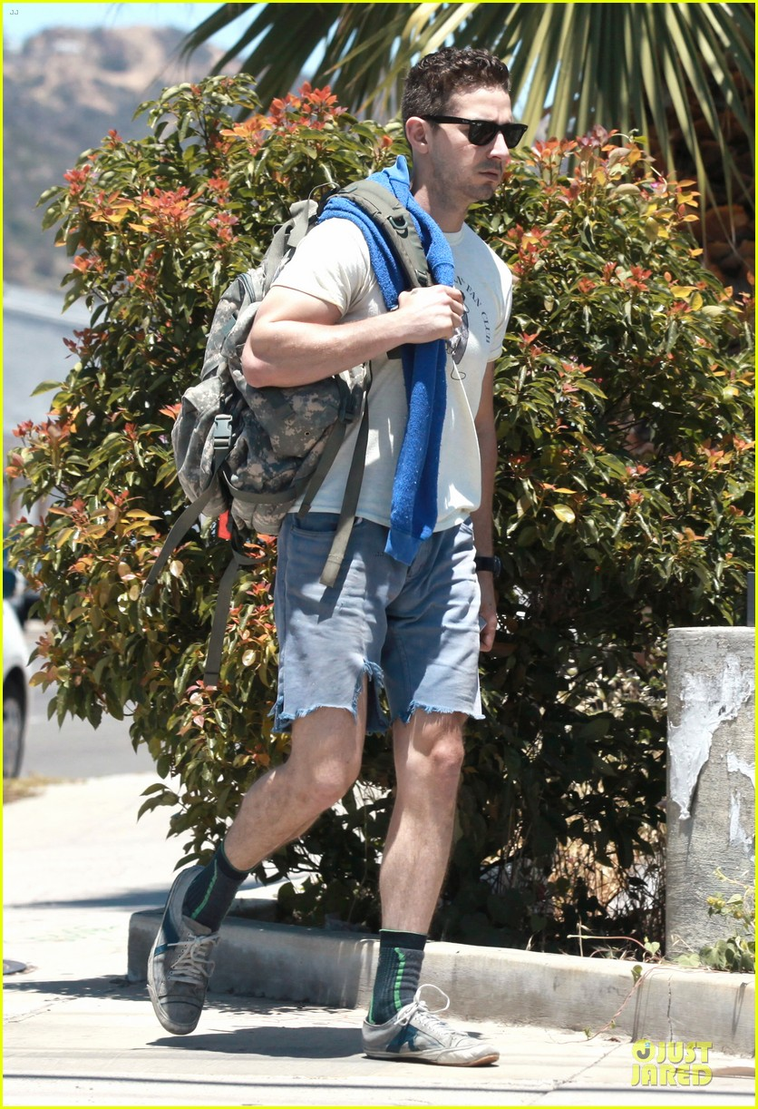 shia labeouf shaves off beard see pics 09