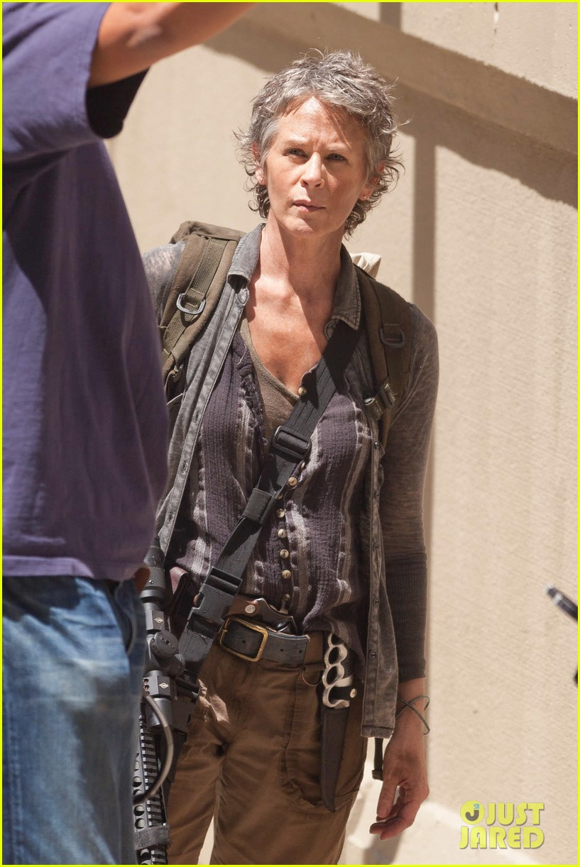 walking dead norman reedus melissa mcbride season five 023148588