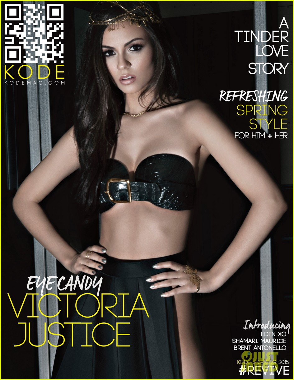 Victoria Justice Shows Off Her Amazing Body For Kode Mag Exclusive
