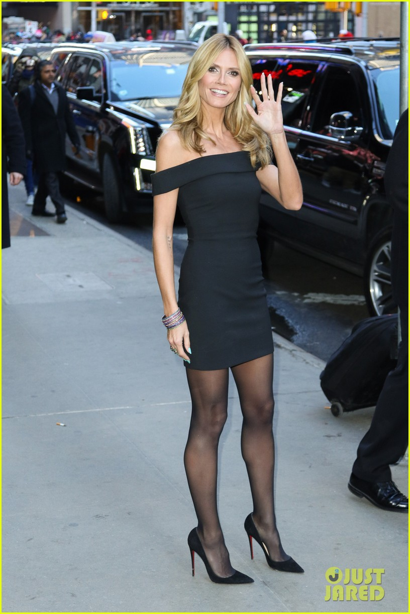 Heidi Klum Heads to the Big Apple to Launch Her Lingerie Line  Photo ... e9321f3d1