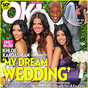 Khloe Kardashian's Wedding Pictures -- First Look