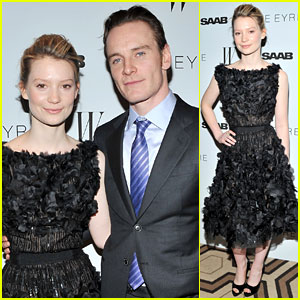 Mia Wasikowska: 'Jane Eyre' Premiere with Michael Fassbender!