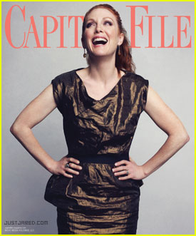Julianne Moore Talks Sarah Palin Role with 'Capitol File'