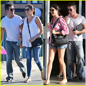 Simon Cowell & Pregnant Lauren Silverman: Weekend Lovers!