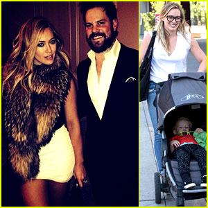 Hilary Duff Gets Lunch with Luca After 'Fancy' New Year's Eve