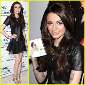 Cher Lloyd Celebrates 'Sorry I'm Late' Album Release in NYC!