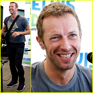 Chris Martin Jokes About Commenting on Ariana Grande Videos