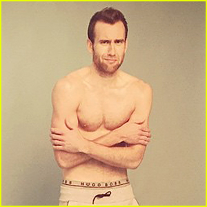 Harry Potter's Matthew Lewis Is Shirtless & Cold During LGBT Magazine Shoot