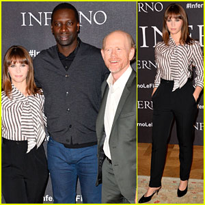 Felicity Jones Brings 'Inferno' to Paris