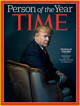 Time's Person of the Year 2016 Revealed: President-elect Donald Trump!