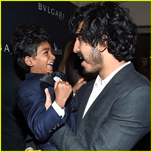 Dev Patel & His 'Lion' Mini-Me Sunny Pawar Are the Cutest Oscars Weekend Buddies!