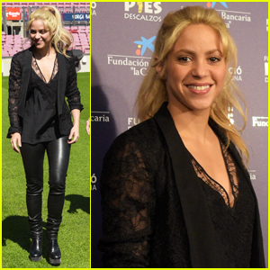 Shakira Helps Launch The Barranquilla School Project!