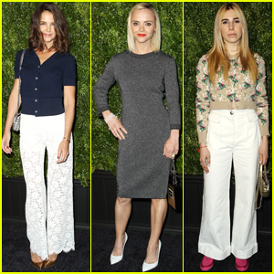 Katie Holmes Supports Artists at 'Chanel's Tribeca Film Fest Dinner