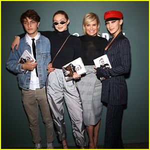Yolanda Hadid Gets Support From Gigi, Bella & Anwar At Her Book Signing