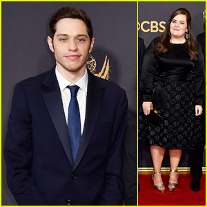 Pete Davidson, Aidy Bryant & More 'Saturday Night Live' Stars Hit the Emmys 2017 Red Carpet!