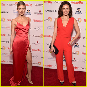 AnnaLynne McCord & Laura Benanti Are Red Hot for Red Dress Awards!